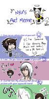 Nyu's Art Meme - SAMANSAFIED by LadyZiel