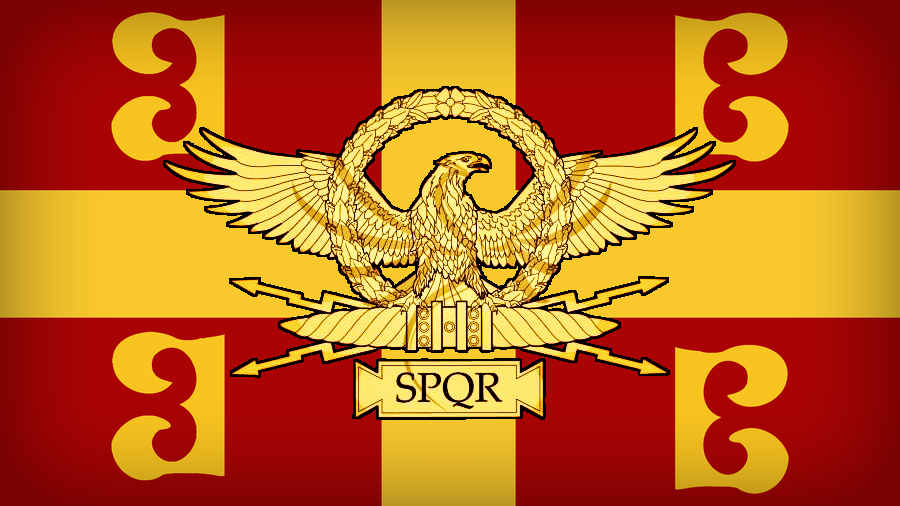 Neo Roman Empire Flag by 4thReichKaiser