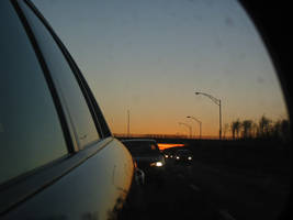 Highway Sunset by artoid