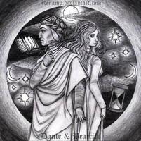 Dante e Beatrice by ElenaMP