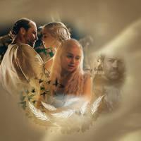 Dany and Jorah by piluskimagic