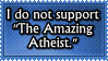 Actually More Like ''The Not So Amazing Atheist'' by Craptrap