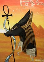 Anubis by SabrinaFranek