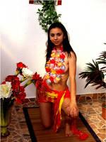 Aloha Hula Girl by Junkyardrose