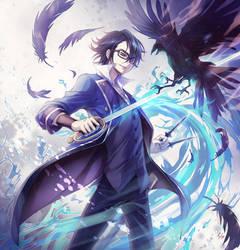 K: Fushimi Saruhiko by fylus