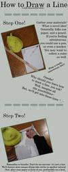 How To Draw A Line by pyokola-digital