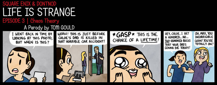 LIFE IS STRANGE   Taking Chances by TheGouldenWay