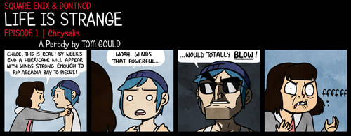 LIFE IS STRANGE   Out of Proportion by TheGouldenWay
