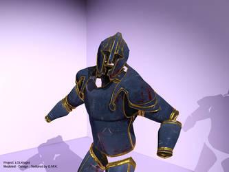 my knight - texturing by I-antares-I