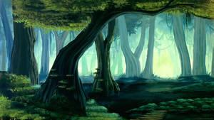 A Murky Stroll Wallpaper by TreeCree