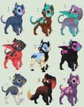 OTA Puppo Adopts [OPEN] by bro-palmer