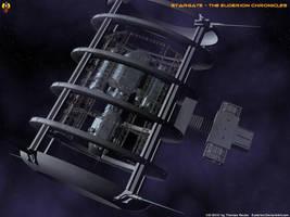 Stargate Drydock Mk2 by Euderion