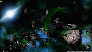 Klingon Raid by Euderion
