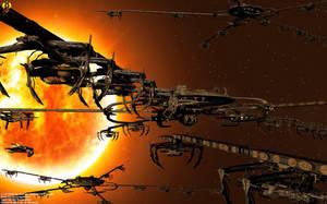 Cardassian Monac Shipyards by Euderion