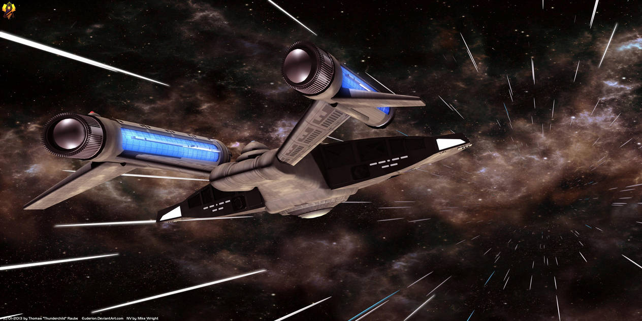 Warp 3 Full Speed by Euderion