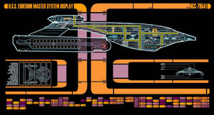 Akira class USS EUDERION Master System Display by Euderion