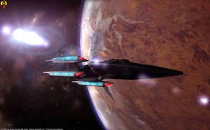 USS Lonestar by Euderion