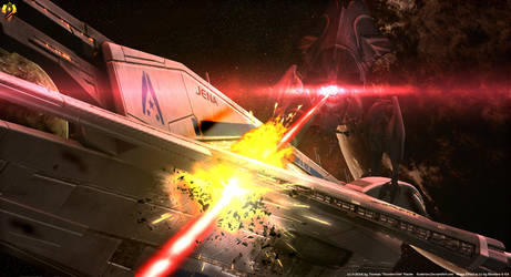 The Final flight of the Jena (Happy N7 Day) by Euderion
