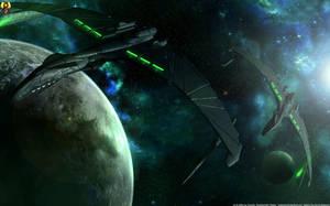 Predators in green by Euderion