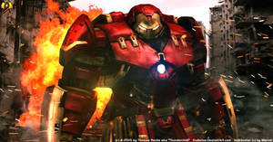 Hulkbuster by Euderion