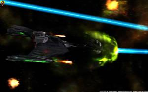 Klingon Advanced Cruiser by Euderion