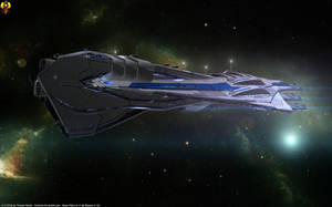 SSV Sagan Systems Alliance Carrier by Euderion