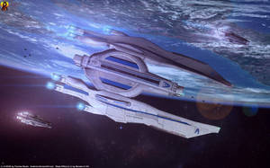 Mass Effect Carrier by Euderion
