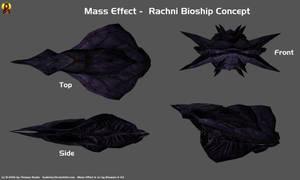 Rachni Bioship Concept by Euderion