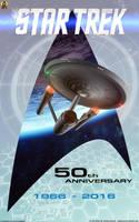 50 Years Star Trek by Euderion