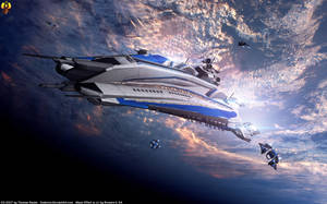 Envoy ship by Euderion