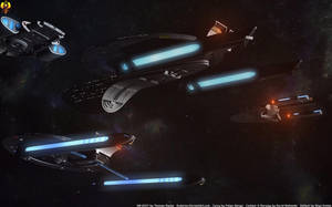 Federation Carrier Group by Euderion