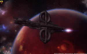 Quarian Heavy Cruiser by Euderion