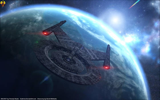 USS Discovery by Euderion