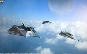 Airspeeders by Euderion