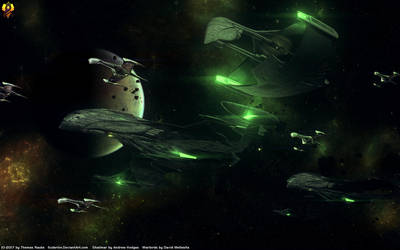 Romulan Republic Fleet by Euderion