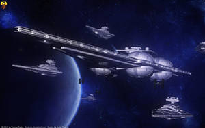 Interdictor leads the fleet by Euderion