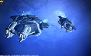 Angaran Shuttles by Euderion