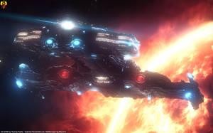 Minotaur class Battlecruiser by Euderion