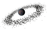 Asteroidring Planet Stock by Euderion