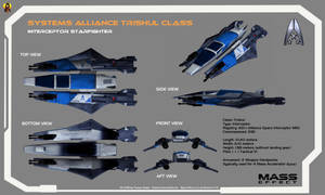 Alliance Trishul class Interceptor Overview by Euderion