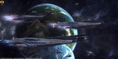 Razors - Systems Alliance Destroyers by Euderion