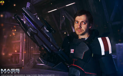 Mass Effect Cosplay - Timothy Shepard by Euderion