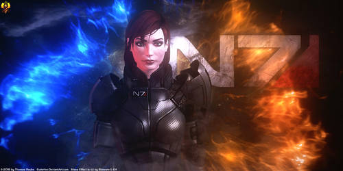 Jane Shepard by Euderion