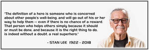 Stan Lee - Excelsior by Euderion
