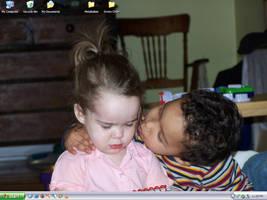 A Darn Cute Desktop by Lunge