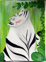 Commission - Meet Bagheera in the jungle by artoftam