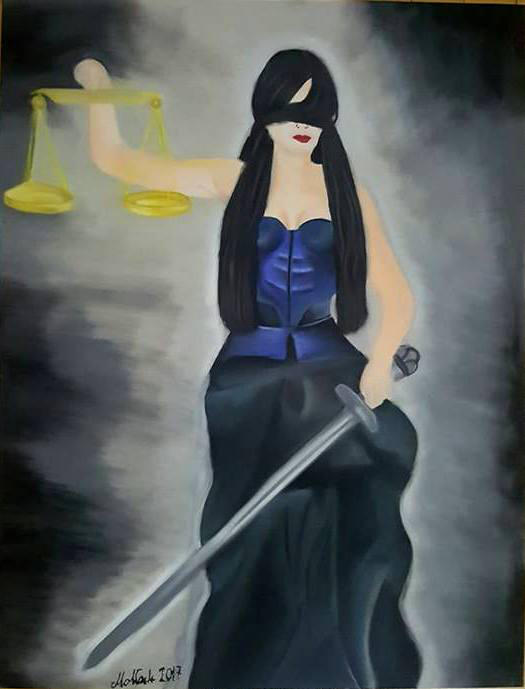 Themis, goddess of justice by bpmha