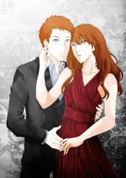 Kyle and Kayla by MarumeChiisa