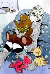 Cuddly Teddy by MarumeChiisa