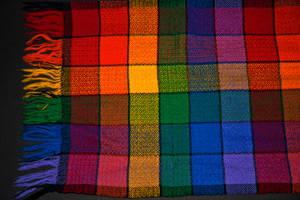 Rainbow 'Pride' Scarf by quintmckown
